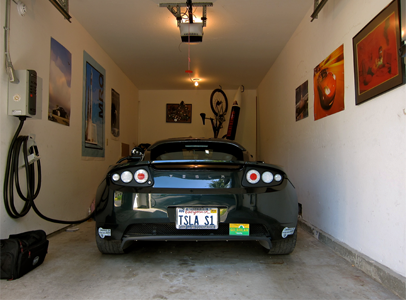 How your electric car's battery can provide solar power to your home after dark