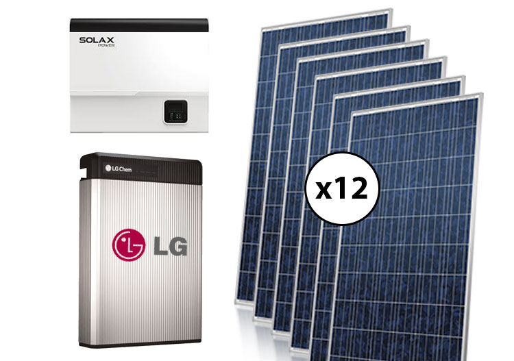 Special-Package-3kW-LG-SolaX-RESU-Hybrid-Complete