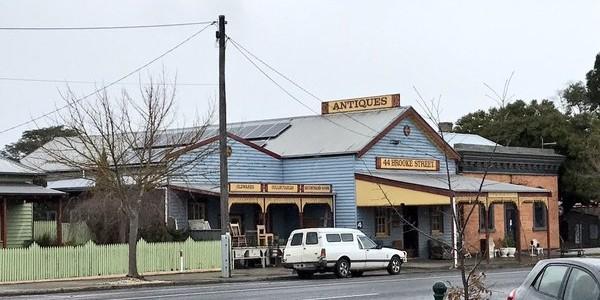 Pic of the Day: Old meets new at solar-powered antique shop