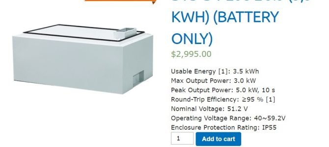 Virtual Power Plant Package Battery Upgrades Available