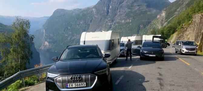 Electric weekend: Three EVs go on 1,300km road trip towing caravans