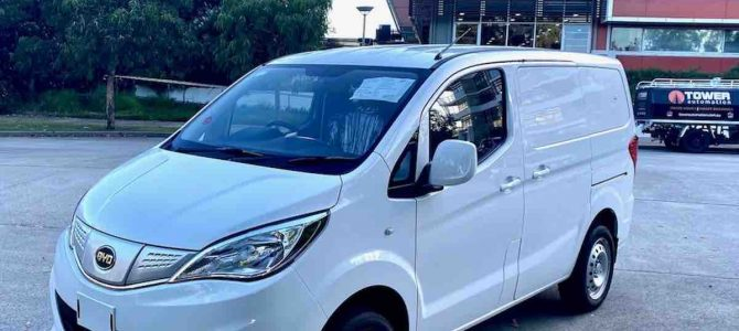 """""""Turning point:"""" Fleets of BYD electric vans to hit Australian roads by September"""
